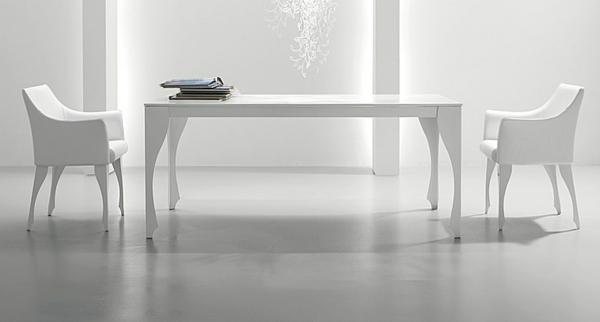 table-laquée-blanche-et-deux-chaises