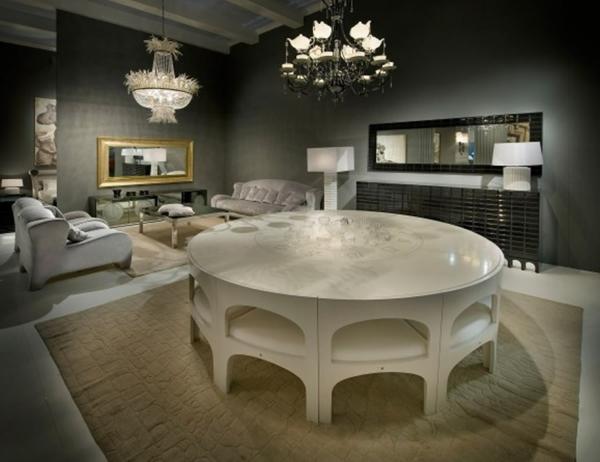 table-laquée-blanche-table-de-déjeuner-moderne