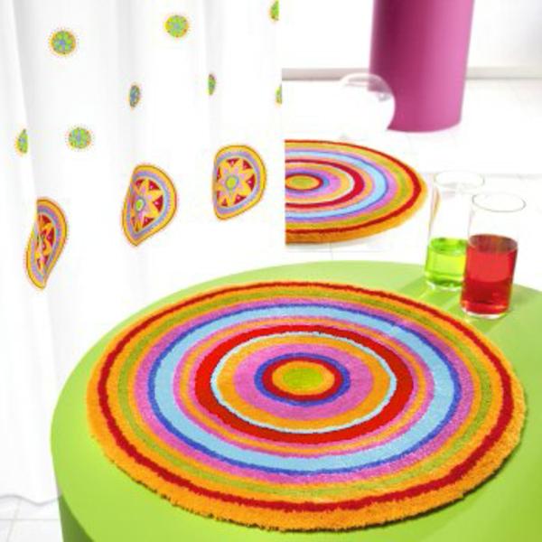 Les tapis de bain originaux sont ravissants - Tapis de bain formes originales ...