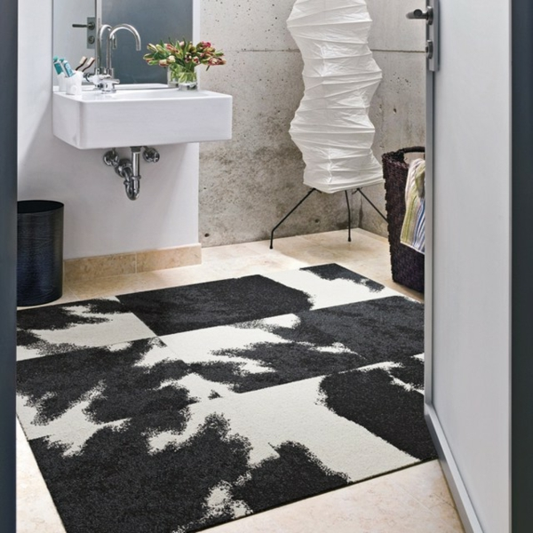tapis salle de bain grande taille carrelage de salle de bain de cuisine de sol mural with tapis. Black Bedroom Furniture Sets. Home Design Ideas
