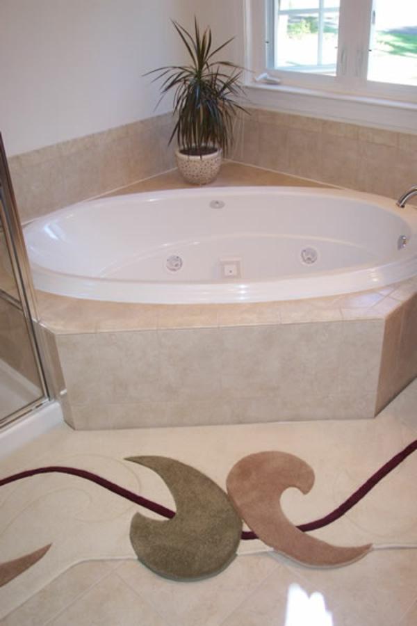 Tapis salle de bain grande taille fond de douche for Taille salle de bain