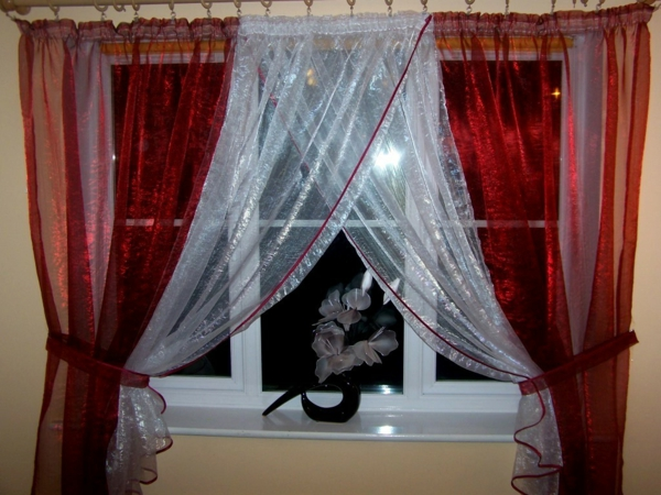 le voilage organza cr e une magie douce pour votre int rieur. Black Bedroom Furniture Sets. Home Design Ideas