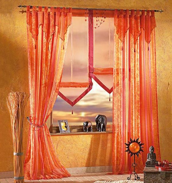 le voilage organza cr e une magie douce pour votre int rieur. Black Bedroom Furniture Sets. Home Design Ideas