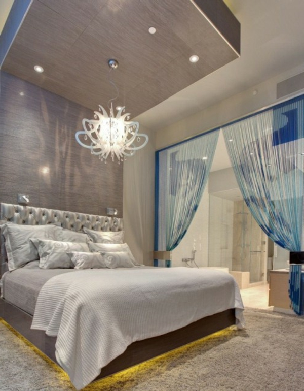 Le voilage organza cr e une magie douce pour votre int rieur for Rideau separation chambre