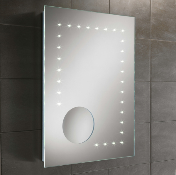 salle - eclairage salle de bain au dessus miroir - luminaire salle de ...