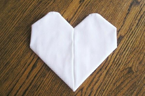 D co pliage de serviette en tissu - Serviette de table en tissu pas cher ...