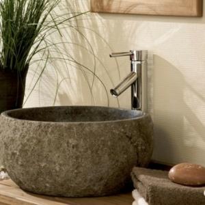 Un lavabo vasque en pierre- grand choix