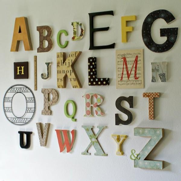 alphabète-lettre-décorative- murale