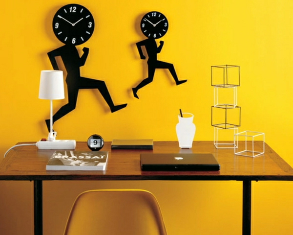amusants-horloges-design- murale
