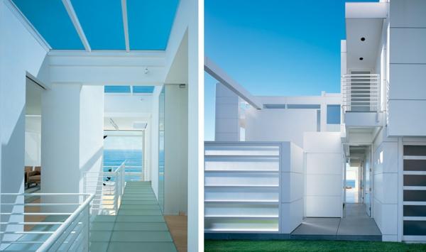 Larchitecture moderne maison plage accueil design et for Architecture de maison moderne