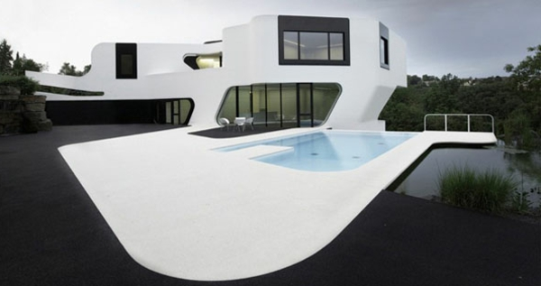 Beautiful Maison Moderne Architecte Photos - lalawgroup.us ...