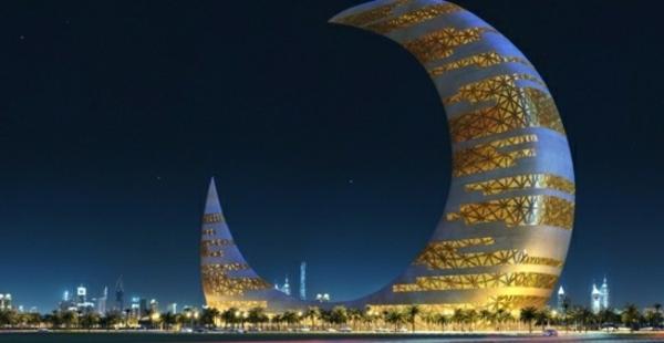 architecture-futuriste-un-bâtiment-à-Dubai