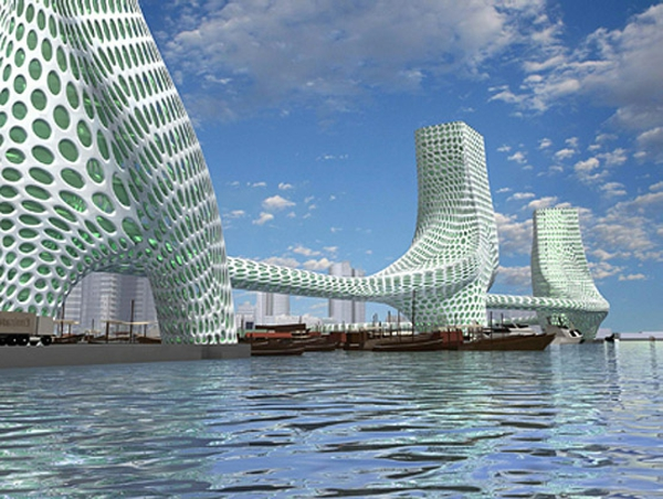 architecture-futuriste-les-trois-grâces