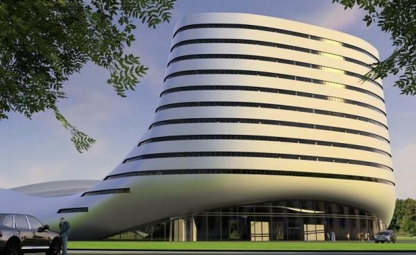 architecture-futuriste-maison-de-golf