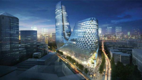 architecture-futuriste-contemporaine
