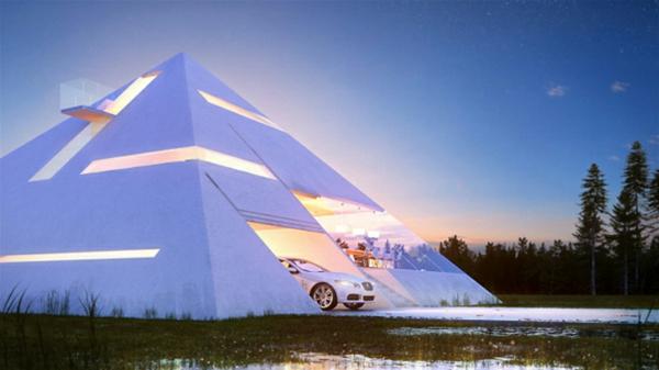 architecture-futuriste-maison-pyramidale