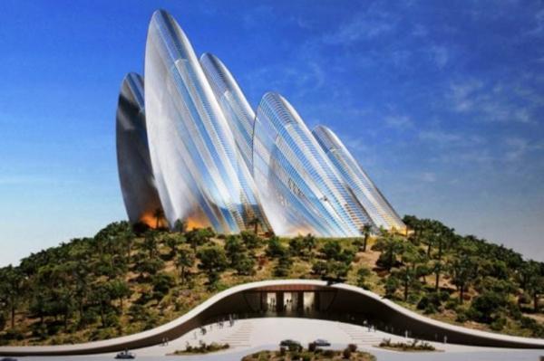 architecture-futuriste-avec-un-jardin