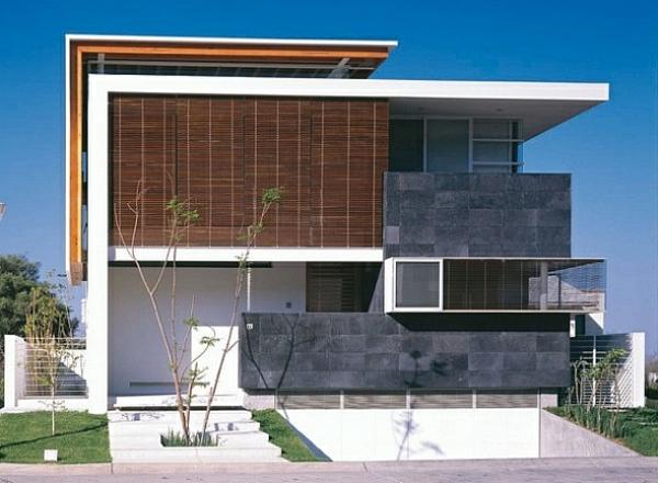 architecture-minimaliste-maison-blanche-bois