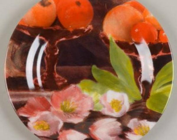assiette-arcopal-vinatge-fleurs