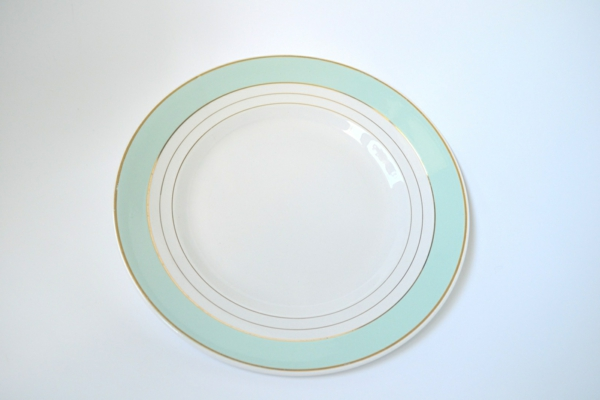 assiette-arcopal-vintage-vert
