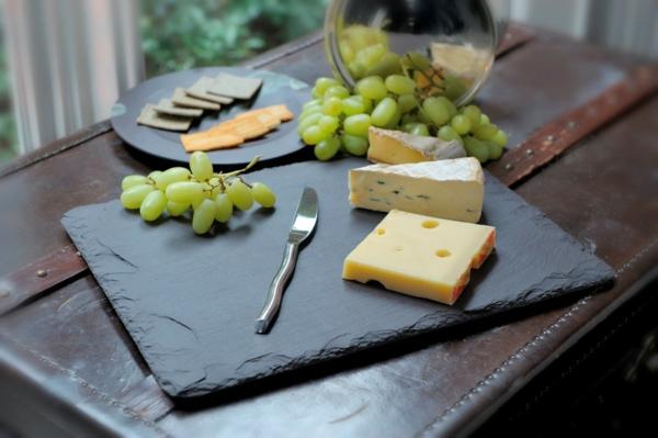 assiette en ardoise alimentaire. Black Bedroom Furniture Sets. Home Design Ideas