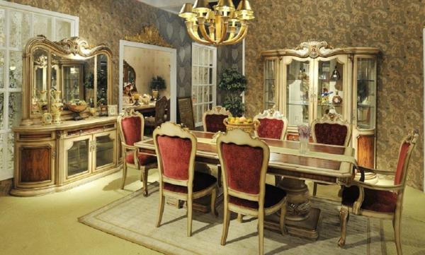 Le bahut de salle manger styles diff rents for Table de salle a manger style baroque