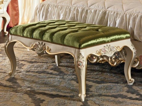 banquette-baroque-velours-vert