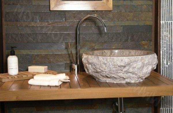 un lavabo vasque en pierre grand choix. Black Bedroom Furniture Sets. Home Design Ideas
