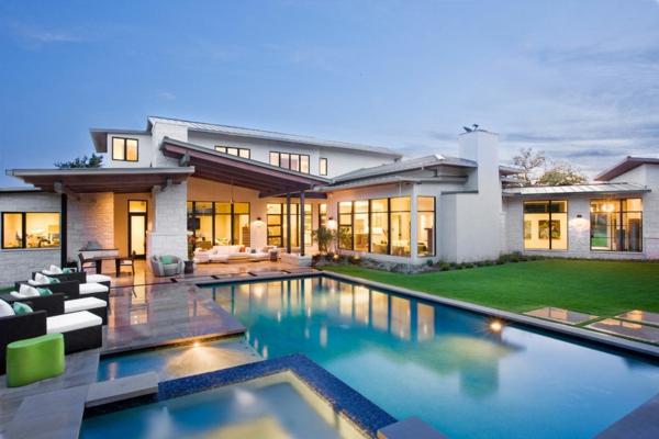 blanc-architecture-de-la-maison-moderne