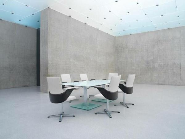 blanc-et-noir-design-fauteuil-de-bureau-ergonomique