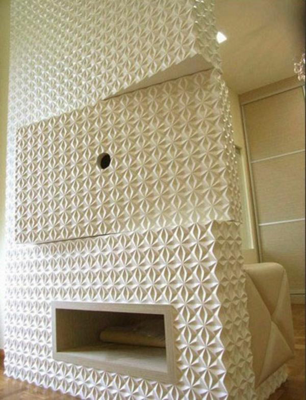 blanc-panneaux-décoratifs-muraux-rélefs