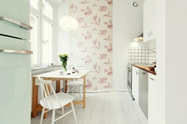 blanche-chambre-et-vintage- déco-scandinave