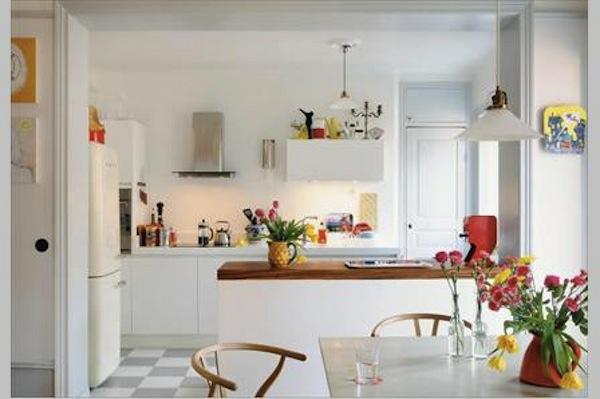 blanche-cuisine-décoration-déco-scandinave