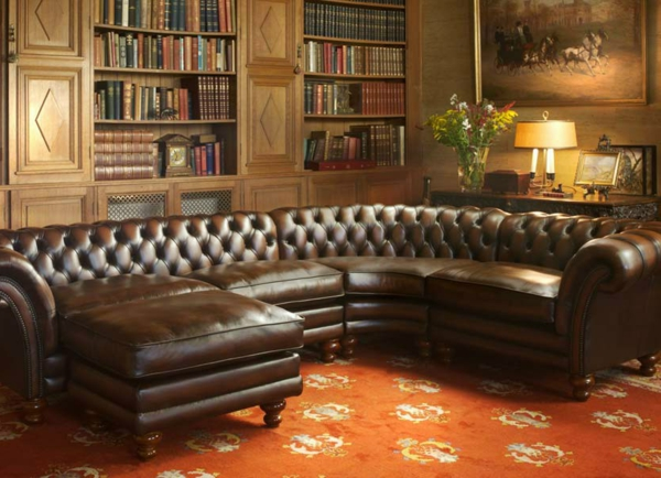 canapé-chesterfield-solide-marron