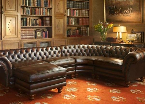 Un canapé chesterfield - le chic et le confort à la maison ...