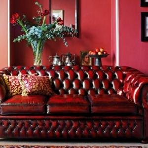 Un canapé chesterfield - le chic et le confort à la maison