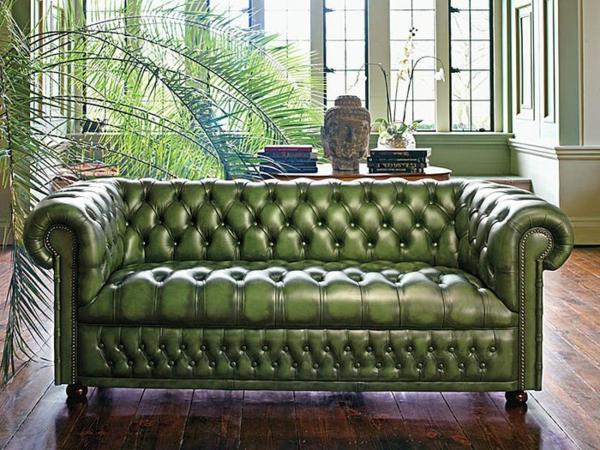 un canap chesterfield le chic et le confort la maison. Black Bedroom Furniture Sets. Home Design Ideas