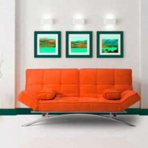 Le canapé lit design est joli et intelligent