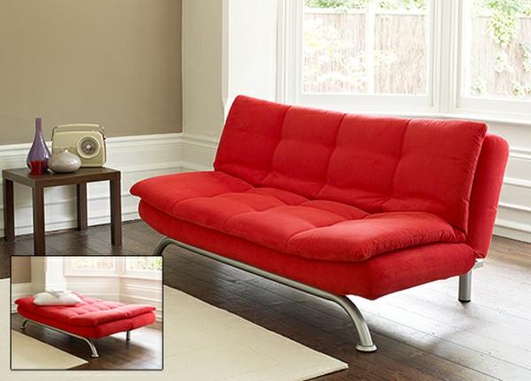 canapé-lit-design-en-rouge