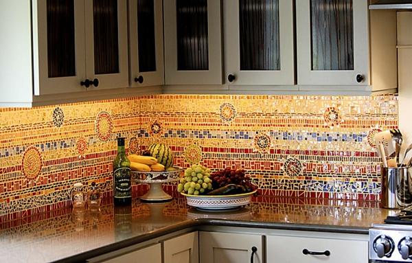 Choisir un carrelage mural de cuisine pour une ambiance - Mosaique autocollante pour cuisine ...