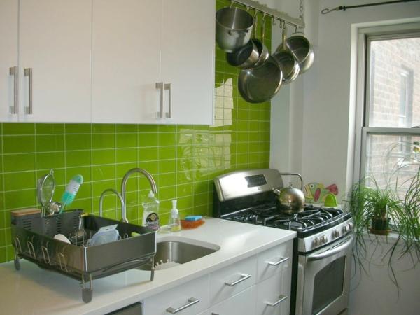 Choisir un carrelage mural de cuisine pour une ambiance for Carrelage mural cuisine vert