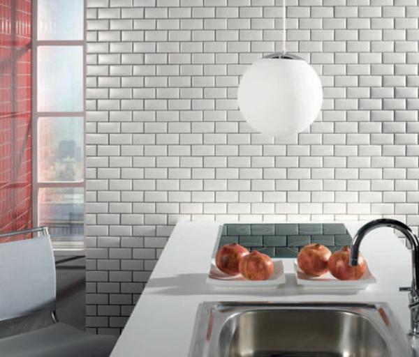 Choisir un carrelage mural de cuisine pour une ambiance - Decoration carrelage mural cuisine ...