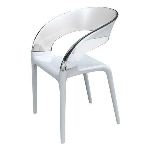 chaises-contemporaines-chaise-à-dossier-transparent