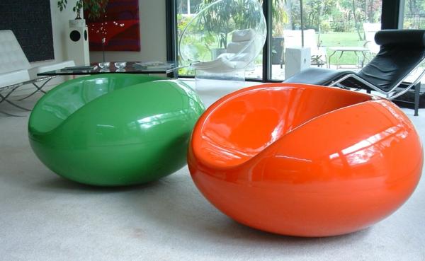 chaises-contemporaines-plastiques