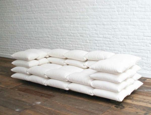 Nuage design du canap futuriste for Coussins design pour canape