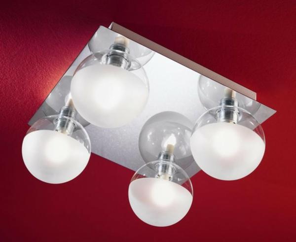 chromé-lampe-ronde