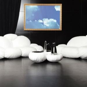 Nuage- design du canapé  futuriste
