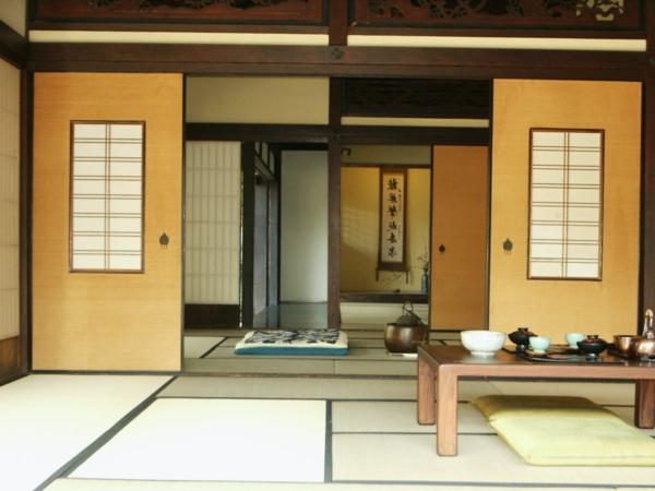 Une cloison japonaise du style et de l 39 intimit dans l 39 int rieur - Cloisons japonaises coulissantes ...