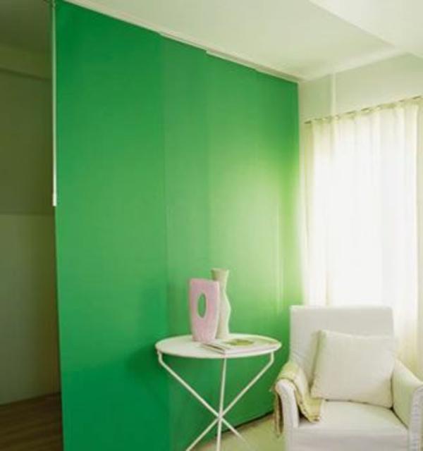 cloison-japonaise-vert-table