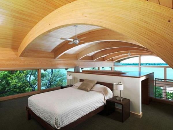 combles-aménagés-formes-arquées-du-plafond